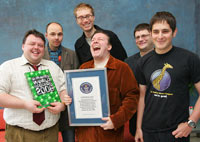 Guiness World Record Podcasting